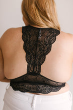 Load image into Gallery viewer, Lacey Lover Bralette in Black - Smith & Vena