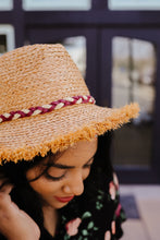 Load image into Gallery viewer, Siesta Or Fiesta Straw Hat - Smith & Vena Online Boutique