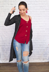 X Duster Cardigan - Smith & Vena Online Boutique