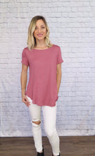 Load image into Gallery viewer, X Kalina Tee - Mauve - Smith & Vena Online Boutique