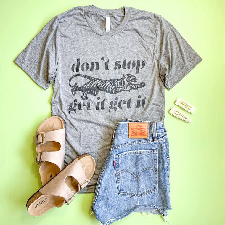 Don't Stop, Get It Get It Graphic Tee - Smith & Vena Online Boutique