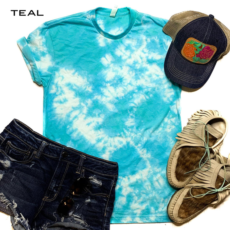 Tie Dye For Tee - Smith & Vena Online Boutique