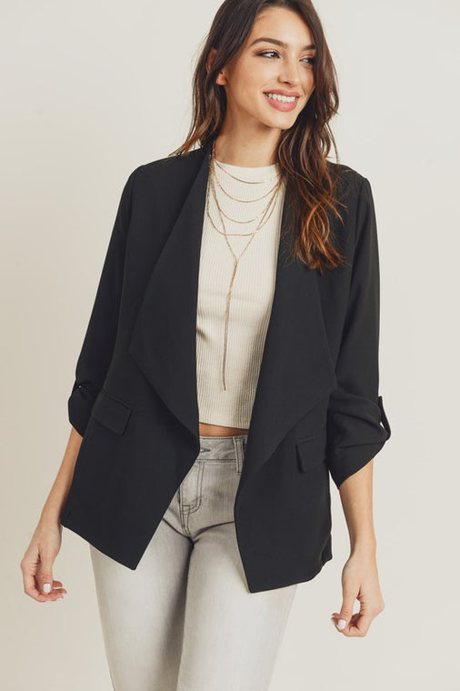 Waterfall Blazer - Smith & Vena Online Boutique