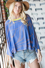 Load image into Gallery viewer, Alexis Oversized Dolman Top - Smith & Vena