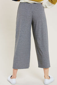 Bailey Ribbed Palazzo Pants - Smith & Vena Online Boutique