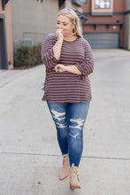 Load image into Gallery viewer, Tori Striped Top - Smith & Vena Online Boutique