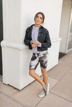 Load image into Gallery viewer, Biking In Style Charcoal Biker Shorts - Smith & Vena Online Boutique