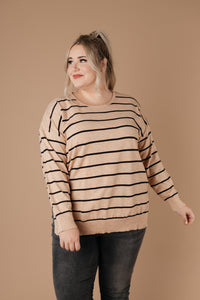 Sophia Striped Sweater - Smith & Vena Online Boutique