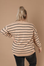 Load image into Gallery viewer, Sophia Striped Sweater - Smith & Vena Online Boutique