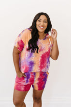 Load image into Gallery viewer, Cheer Me Up Tie Dye Hoodie In Orange - Smith & Vena Online Boutique