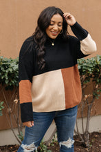 Load image into Gallery viewer, Chloe Color Block Sweater