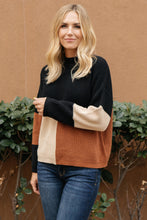 Load image into Gallery viewer, Chloe Color Block Sweater - Smith & Vena Online Boutique