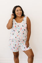 Load image into Gallery viewer, Confetti Leopard Print Tank In White - Smith & Vena Online Boutique