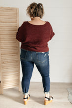 Load image into Gallery viewer, Tai Sweater in Wine - Smith & Vena Online Boutique
