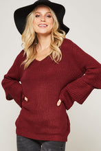Load image into Gallery viewer, Elliot Ruffle Sleeve Sweater - FINAL SALE - Smith & Vena Online Boutique