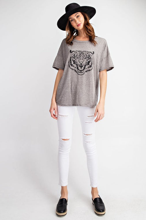 Eye Of The Tiger Tee - Smith & Vena Online Boutique