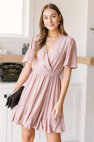 Forever & Always Dress in Mauve - Smith & Vena