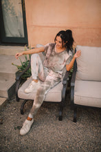 Load image into Gallery viewer, Forgotten Dreams Tie Dye Joggers In Taupe - Smith & Vena Online Boutique