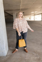 Load image into Gallery viewer, Giraffe Print Bell Sleeve Top - Smith & Vena Online Boutique