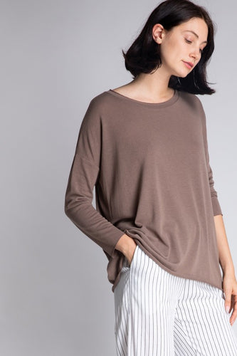 Grace Top - Smoke Olive
