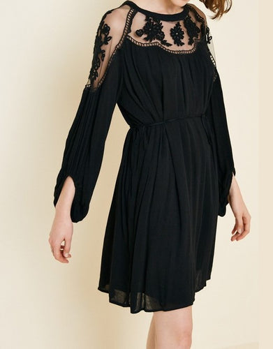 Havana Embroidered Lace Dress - Smith & Vena Online Boutique