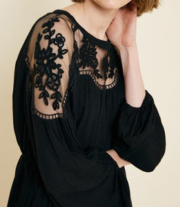 Havana Embroidered Lace Dress