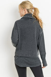 Hope Cowl Neck Pullover - Smith & Vena Online Boutique