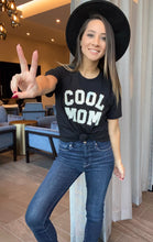 Load image into Gallery viewer, Cool Mom Graphic Tee-  Black - Smith & Vena Online Boutique