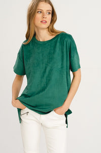X Jasmine Suede Top - Smith & Vena Online Boutique