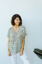 Load image into Gallery viewer, Leap Of Faith V-Neck In Mint - Smith & Vena Online Boutique