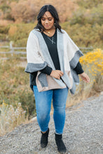 Load image into Gallery viewer, Lightly Layering Poncho Cardigan - Smith & Vena Online Boutique