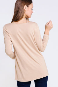 Lillian Caged Long Sleeve - Smith & Vena Online Boutique
