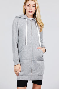Payton Fleece Jacket - Grey