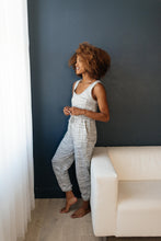 Load image into Gallery viewer, Lounge In Style Melange Jumpsuit - Smith & Vena Online Boutique