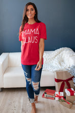 Load image into Gallery viewer, Mama Claus Graphic Tee - Smith & Vena Online Boutique