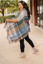 Load image into Gallery viewer, Basic Poncho in Light Gray