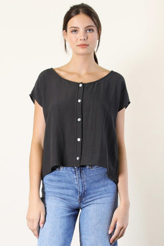 Natasha Button Top
