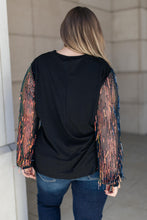 Load image into Gallery viewer, Harper Tinsel Top - Smith & Vena Online Boutique