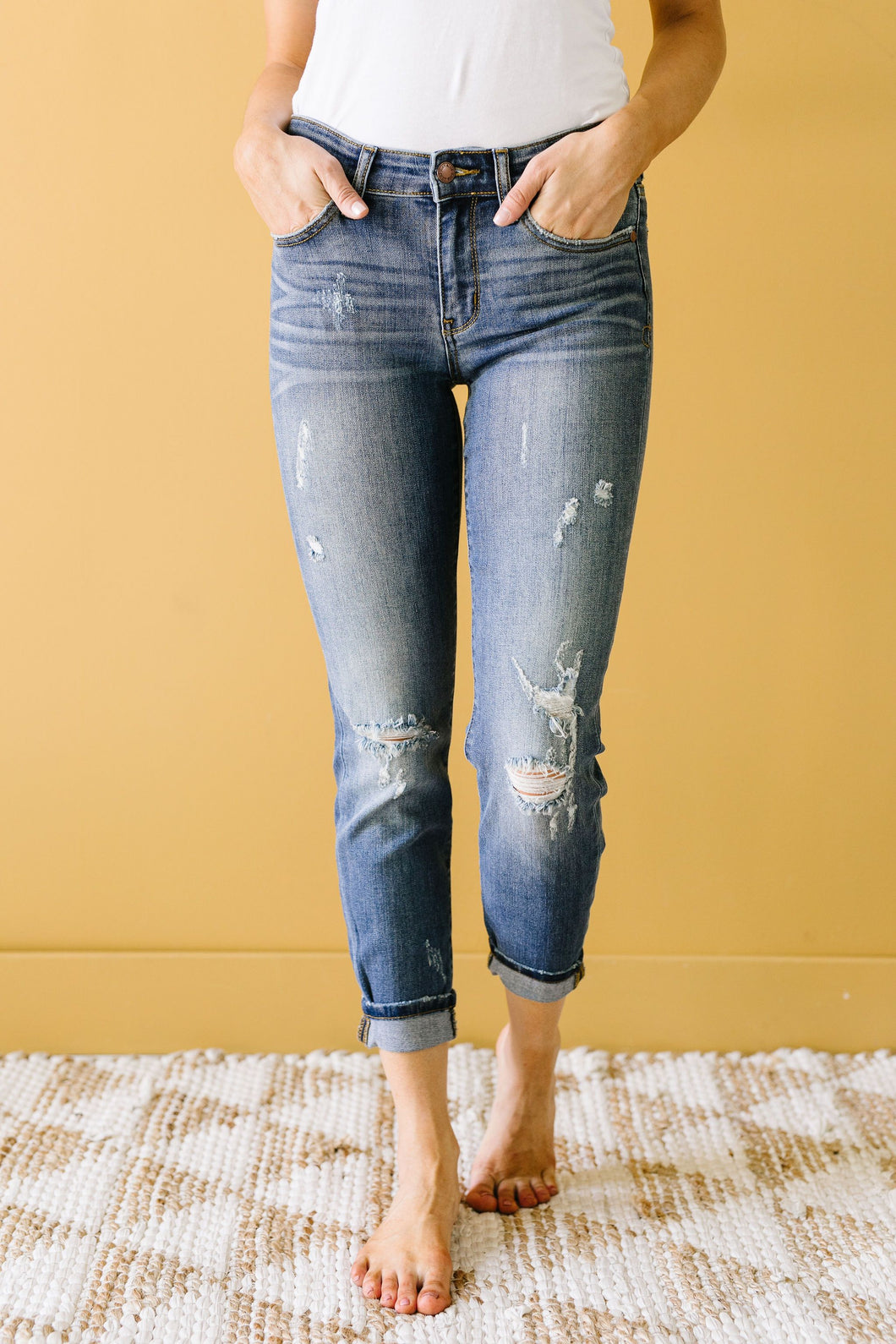 Taylor Relaxed Denim - Smith & Vena Online Boutique