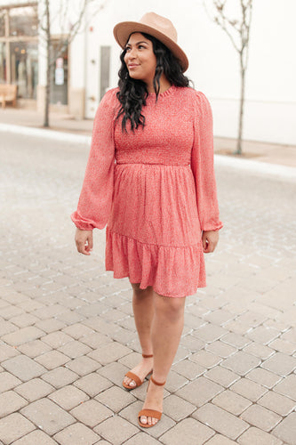Samantha Smocked Dress - Smith & Vena Online Boutique