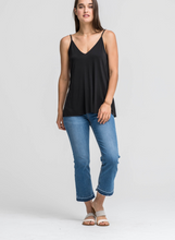 Load image into Gallery viewer, X Stassi Tank - Black - Smith & Vena Online Boutique