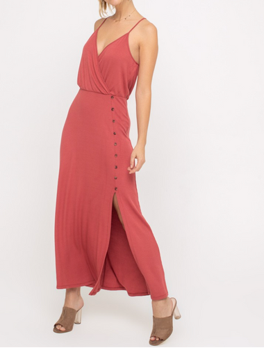 Mila Ribbed Maxi Dress - FINAL SALE
