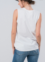 Load image into Gallery viewer, X No Adulting Tank - White- FINAL SALE - Smith & Vena Online Boutique