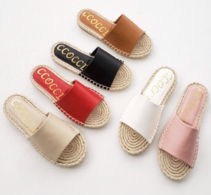 Vacation Slip On - Tan FINAL SALE NO BOX