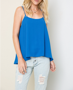 Nova Tank - Cobalt FINAL SALE - Smith & Vena Online Boutique