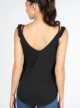 Load image into Gallery viewer, Kelly Ruffle Tank - Smith & Vena Online Boutique