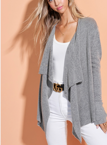 Shyla Cardigan - Heather Grey