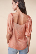 Load image into Gallery viewer, Serena Blouse - Peach - FINAL SALE