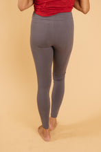 Load image into Gallery viewer, Soft As Butter Moto Leggings in Charcoal - Smith & Vena Online Boutique
