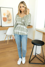 Load image into Gallery viewer, Zoe Tie Dye Top - Smith & Vena Online Boutique